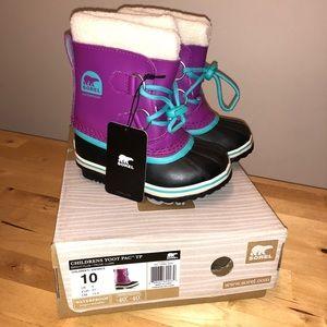Sorel Children's Yoot Pc TP Boots in Bright Plum